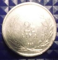 @Y@  Turkije  2 1/2  Lira   1962     (2701) - Turquie