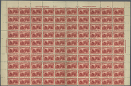** Vereinigte Staaten Von Amerika: THE RECENTLY DISCOVERED  UNIQUE COMPLETE PANE OF 100 OF THE USA $2.0 - United States