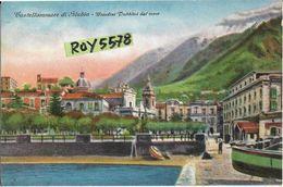 Campania-castellammare Di Stabia Veduta Giardini Pubblici Dal Mare - Castellammare Di Stabia