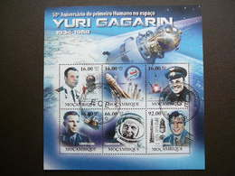 Space - Y.Gagarin. Raumfahrt. Espace # Mozambique # 2011 Used S/s # Vostok - Space