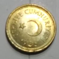 @Y@   Turkije   10 Kurus  1956      (2699) - Türkei