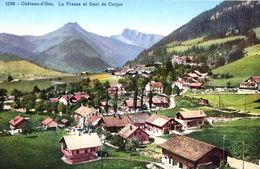 Château-d'Oex La Frasse Et Dent De Corjon - VD Vaud