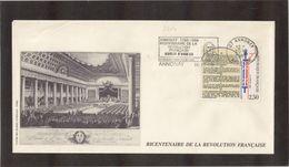 BC - France Bicentenaire De La REVOLUTION - 30.12.1989 Sur PO 2604 ANNONAY. - France