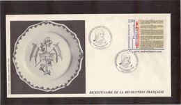 BC - France BICENTENAIRE De La REVOLUTION - 30.11.1989 Sur PO 2603 - BASTIA. - France