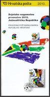 Croatia 2010 / Prospectus, Leaflet, Brochure / Sport / FIFA World Cup South Africa / Football - Croatie