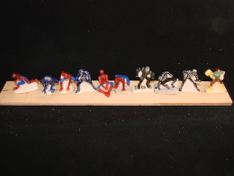 Serie De 10 Feves Spiderman - Charms