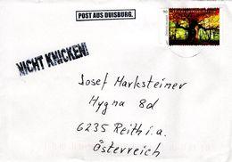 Auslands - Brief Von 47149 Duisburg Mit 90 Cent Reinhardswald Hessen 2018 - BRD