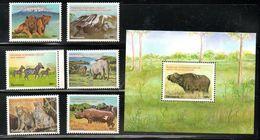 TANZANIA,2004,wild Animals, 6v.+M/S MNH** - Sellos