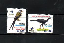 BOLIVIA, 2017,BIRDS, 2v, MNH**NEW! - Oiseaux