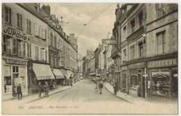 AMIENS SOMME : Rue Duméril - Ed LL N° 127 - Voyagé La Molière CAYEUX Sur MER - Amiens