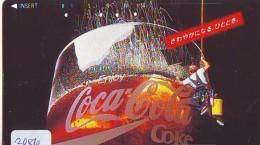 Télécarte Japon * 110-106766 - COCA COLA *  (2086)  JAPAN Phonecard * Telefonkarte - Publicité