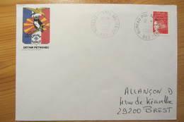 Bureau Postal Militaire 662 De KUMANOVO (Macédoine) - Détachement Air De Petrovec - Cellule Rapace - Military Postmarks From 1900 (out Of Wars Periods)