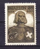 Soldatenmarke, Bataillon 28, 1914/1918, Bubenberg, Ungebraucht (46177) - Military Post