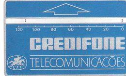 Portugal - Phonecard/ Telécarte Telecom Card / OPTICAL CTT- TELECOMUNICAÇÕES--120 U-- ( Nº 16i CATALOGUE ) - Portogallo
