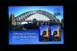 AUSTRALIA - 2007 SYDNEY HARBOUR BRIDGE   MS OVERPRINTED  SBERATEL MINT NH - Blocchi & Foglietti