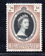 T1622 - BECHUANALAND 1953 , Coronation Incoronazione : L'emissione ** - Bechuanaland (...-1966)