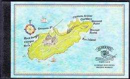 ALDERNEY   Michel  PRESTIGE BOOKLET 1 Very Fine Used - Alderney
