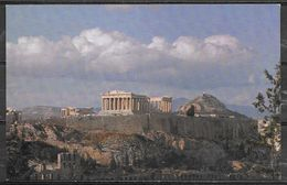 "Greece, Athens, ""in Flight With TWA"" Postcard, Unused - Greece"