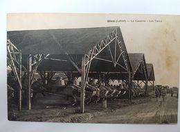 45 - CPA Animée, Militaria GIEN (Loiret) - La Caserne - Les Tanks ( L.Lenormand) - Gien