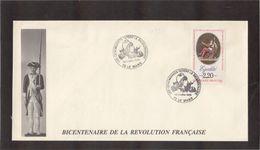 BC - FRANCE -  BICENTENAIRE De La REVOLUTION - 1 Et 2.07.1989 Sur PO 2574 - LE MANS. - France