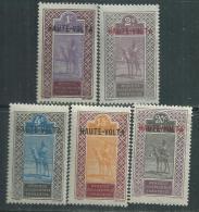 Haute Volta  N ° 1 / 3 + 6 / 7  X Les 5 Valeurs Trace De Charnière, Sinon TB - Obervolta (1920-1932)