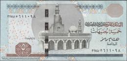 TWN - EGYPT 63j - 5 Pounds 16.9.2015 UNC - Egitto