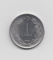 @Y@  Turkije  1  Lira   1960   (2695) - Turquie