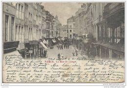 NAMUR ..-- La Rue De L ' Ange . 1902 De RHISNE Vers SOUVRET ( Melle Bertha THILMANS ) . Voir Verso . - Namur