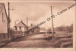 CPSM - Somme > Bourseville - Route De Belloy - Other Municipalities