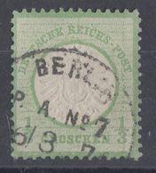 DR Minr.17 Gestempelt Berlin P. A. No.7 - Oblitérés