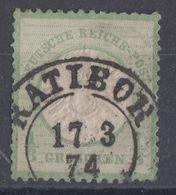 DR Minr.17 Gestempelt Ratibor 17.3.74 - Deutschland