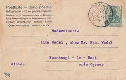 DR Karte EF Minr.70 KOS Niederbruck (Oberels.) 8.2.02 - Briefe U. Dokumente