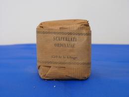 """Ancien Paquet """"SCAFERLATI ORDINAIRE"""" - Tabac (objets Liés)"""