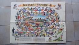 ITALIA GIOCO DELL'OCA IL GIUOCO DEL GIRO D'ITALIA 1950 CICLISMO - Group Games, Parlour Games