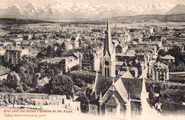 Biel Und Alpen - Bienne Et Les Alpes - BE Berne