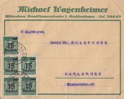 DR Werbebrief Michael Wagenheimer München Mef Minr.5x 279 München 11.9.23 - Deutschland