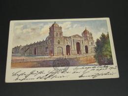 Cuba 1903 Cathedral Picture Postcard To Austria *8811 - Cuba