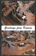 Kansas, Salina, Indian Burials, Greetings, Unused - United States