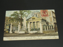 Cuba 1908 Havana Picture Postcard To UK *8860 - Cuba