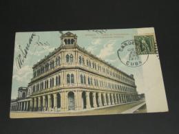 Cuba 1910 Havana Picture Postcard To Austria Corner Folds *8808 - Cuba