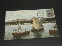Cuba 1910 Havana Picture Postcard To France Corner Folds *8851 - Cuba