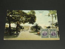 Cuba 1911 Havana Picture Postcard To Austria Corner Fold *8823 - Cuba