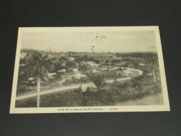 Cuba 1921 Auto Roads Picture Postcard To Germany *8778 - Cuba