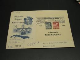 Cuba 1952 FDC Cover *8962 - Cuba