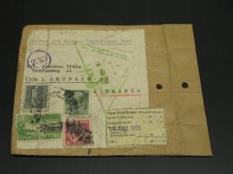 Cuba 1955 Sample No Value Cover To Germany Faults *8940 - Cuba