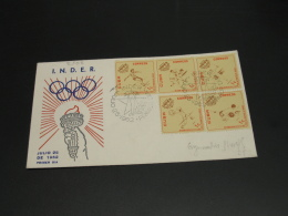 Cuba 1962 Olympic FDC Cover *8908 - Cuba