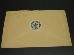 Germany 1936 Nazi Swastika Propaganda Seal On Cover Tear *8703 - Germany