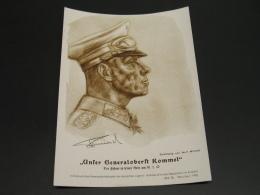 Germany 1942 Rommel Nazi Propaganda Thin Paper *8675 - Germany