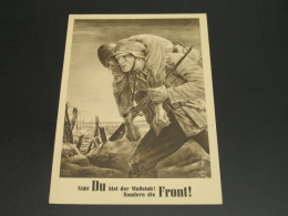 Germany 1943 Postcard Nazi Swastika Propaganda *8683 - Germany
