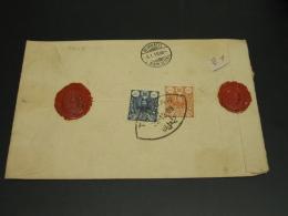 Iran 1909 Registered Cover To Switzerland *8614 - Iran